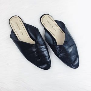 Zara Basic Collection Black Simple Pointed Flats